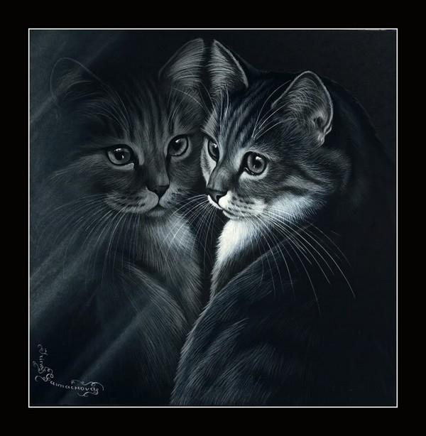 Peinture de : Irina Garmashova