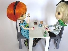 """1)Tuto """"une boite à thé miniature"""""""