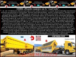 "CHINE: offensive majeure sur le ""road train"". (2)"