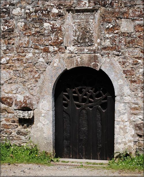 Photo de la chapelle de Folgoat (Landévennec- Finistère)