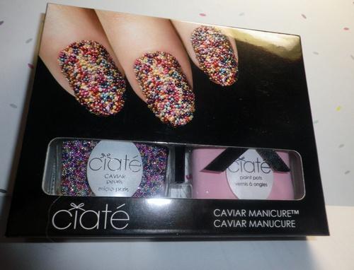 La caviar manicure