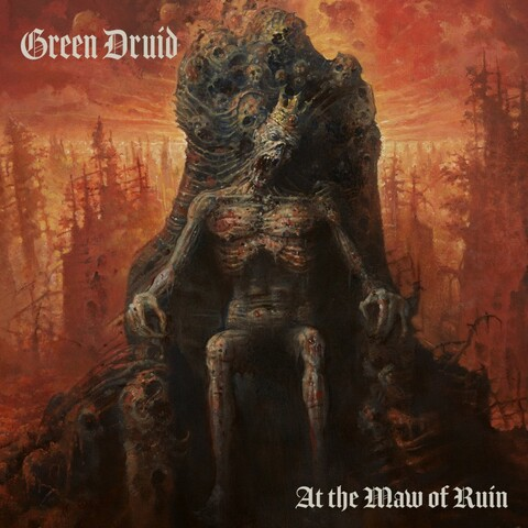 "GREEN DRUID - Les détails du nouvel album At The Maw Of Ruin ; ""The Forest Dark"" Visualizer Video"