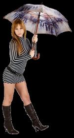 Tube nők esernyős