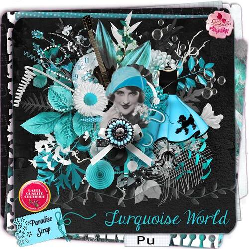 KIT TURQUOISE WORLD DE DESCLICS