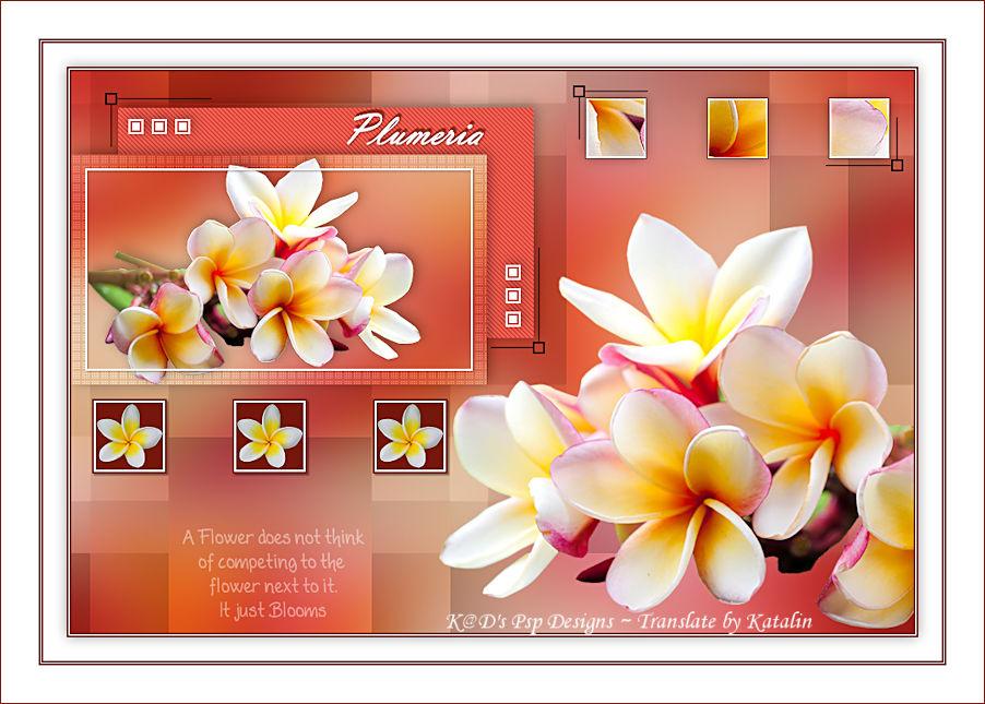K@D's Psp Design ~ Plumeria