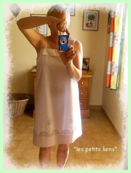 robe-drap en pied pf