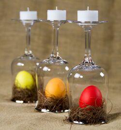 Cocotte et œufs.