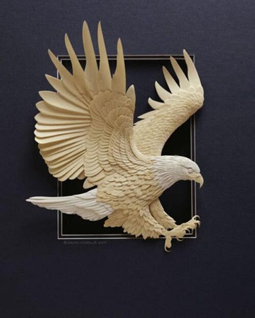 Créations faites en papier