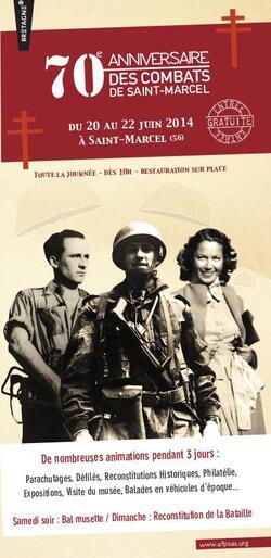 70ème anniversaire ds combats de Saint-Marcel ,le Programme :
