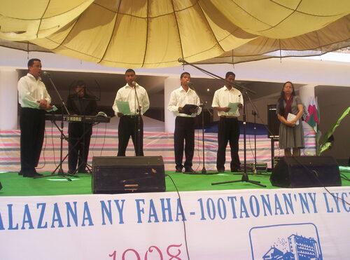 Ouverture centenaire LAA - 31-10-2008