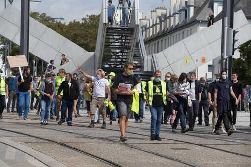 Un rassemblement s'était tenu en septembre, réunissant une petite centaine de personnes.