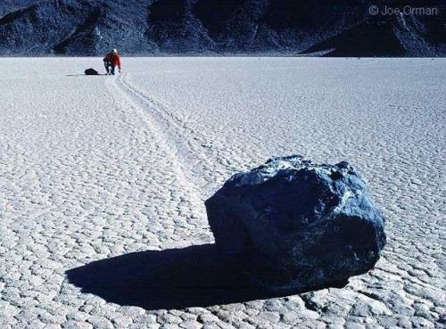 Les rochers vivants de la vallée de la Mort