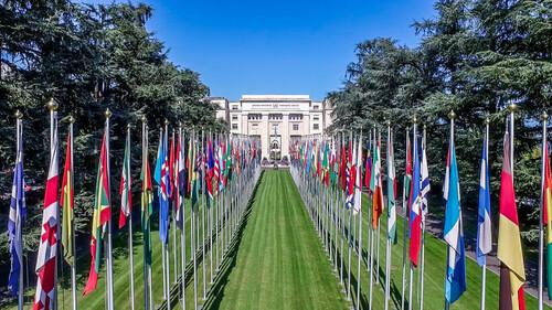 LES  NATIONS UNIES -UNITED NATIONS DANS GENEVE SUISSE
