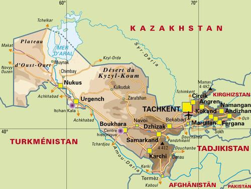 Départ Ouzbékistan