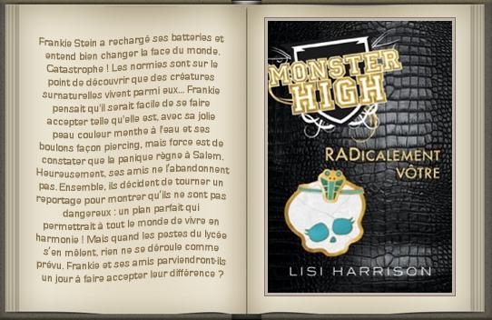 « Monster High : tome 2 » de Lisi Harrison.