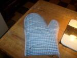 un gant de cuisine