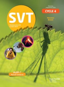 Notre manuel de SVT cycle 4