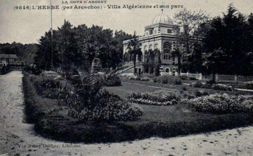 chapelle algérienne -  son parc, jardin potager, ses vignes