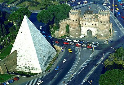 PYRAMIDE DE CESTIUS, Rome, Italie