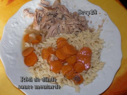 Rôti de dinde sauce moutarde (mijot'cook)