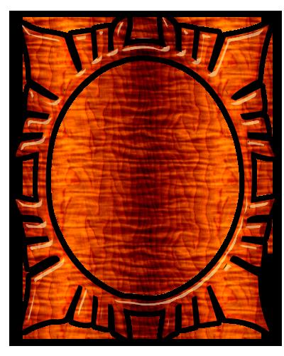 Cadres Ovales Série 8