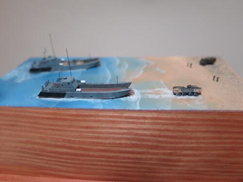 LCM Serna : diorama terminé