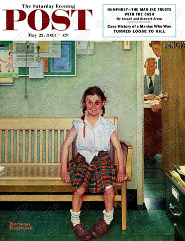 Saturday Evening Post Cover from May 23, 1953