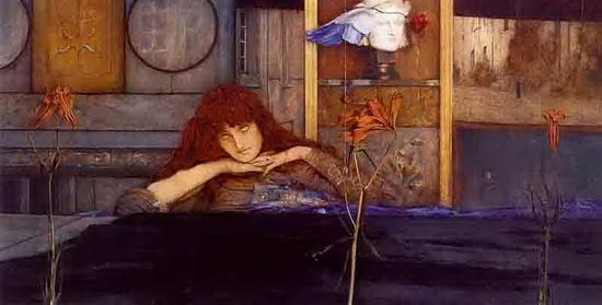 Fernand Khnopff, Fermez la porte sur moi