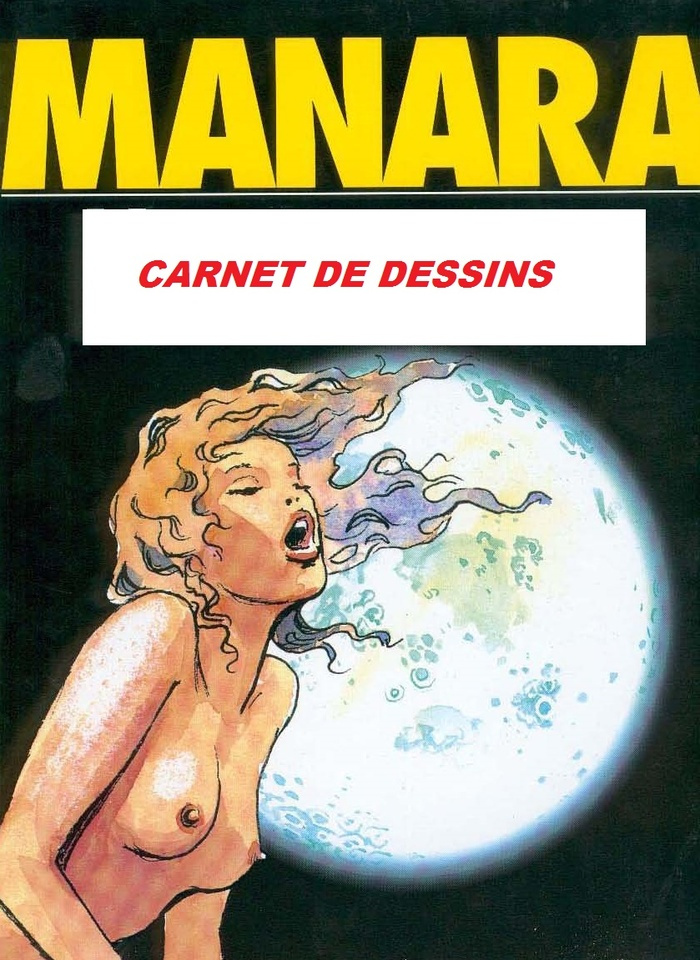 Carnet de dessins de Manara