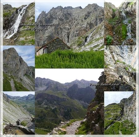 Virade dans les Vallées Piémontaises... (Juillet 2017)