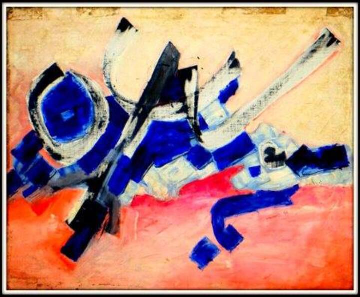Artiste peintre: Abdelali Mouada Dit Ali - 2.