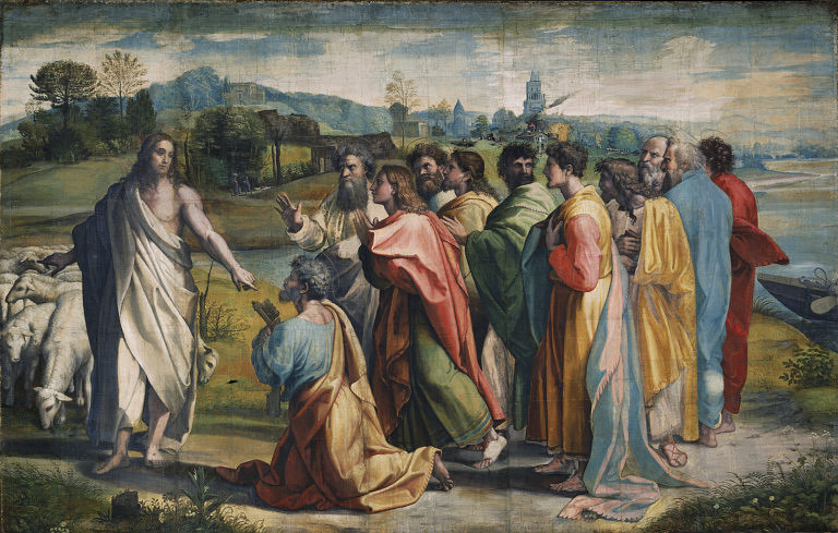 V&A - Raphael, Christ's Charge to Peter (1515).jpg
