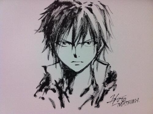 Grey - Fairy Tail - Hiro Mashima