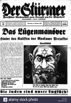 Julius Streicher, l'abominable créateur de Der Stürmer