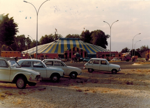 Le cirque PINDER-JEAN RICHARD  à Vitry en 1974