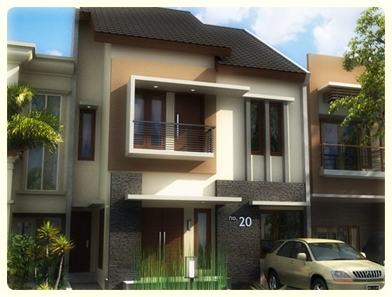 Contoh Model Teras Rumah Minimalis Sederhana Modern Terbaru Bratajaya