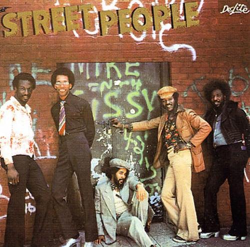 """Street People : Album """" Street People """" Vigor Records VI-7001 [ US ]"""