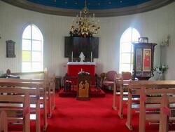 Les églises des fjords de l'ouest de N à Þ