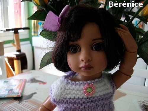 Jolie nouvelle poupée !