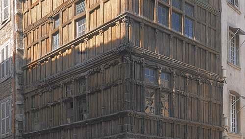 La maison de bois à Macon