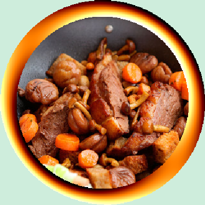 Canard aux carottes