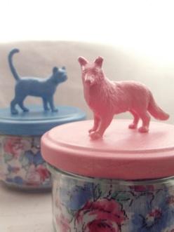 Les petits pots animaux