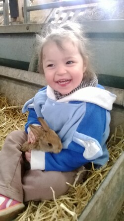 Avril 2014 1ère sortie à la ferme en smala