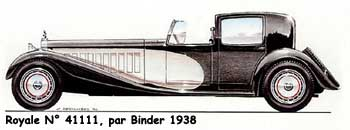 "Bugatti Type 41 ""dite Royale"""