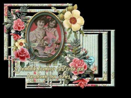 Cadre vintage no'8 avec cadre Marilyn par Jopel