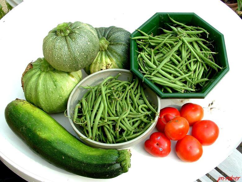 Jardin ou potager : Jardiner, c'est un sport physique et en plus avec la récompense en plus.