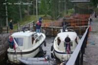 Vrangfoss-descente de 2 bateaux..