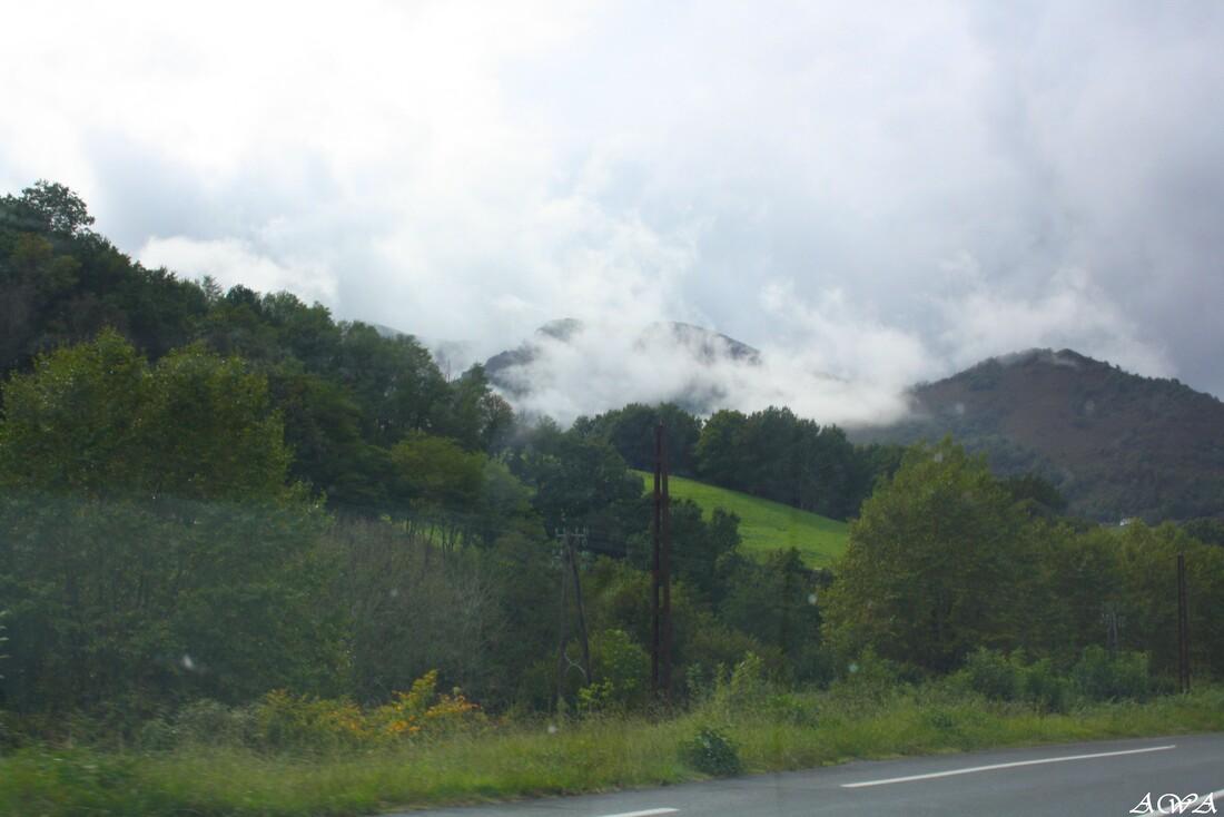 Les Pyrénées en Octobre.