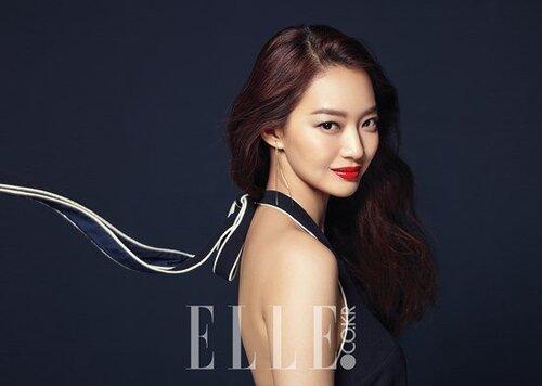 Shin Min Ah pour Elle