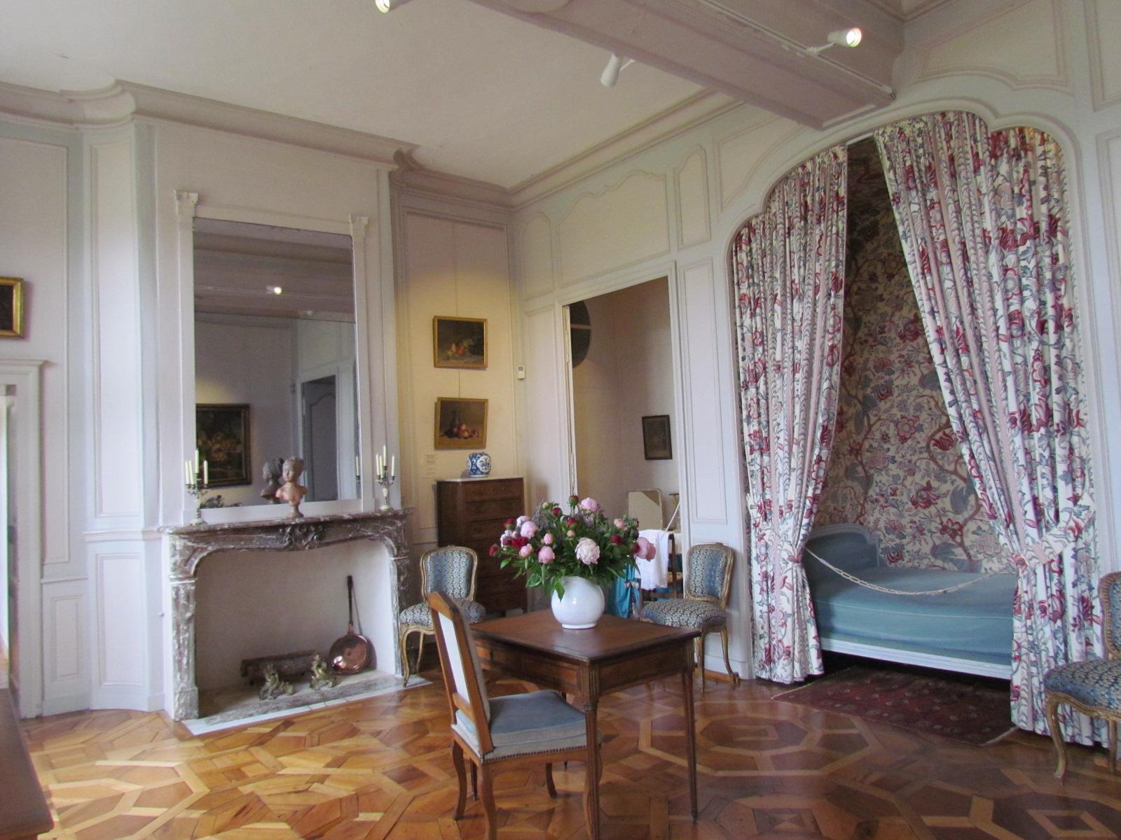 L 39 interieur du chateau de villandry 37510 indre et loir 1 2 - Chambre interieur ...